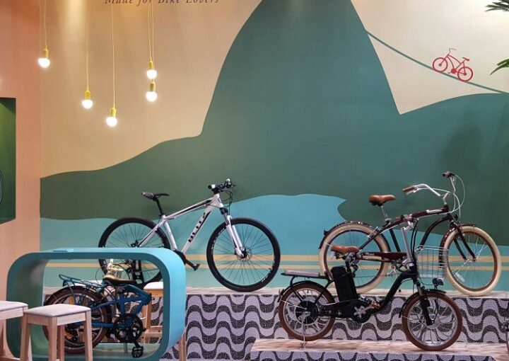A Blitz na China International Bicycle Fair!
