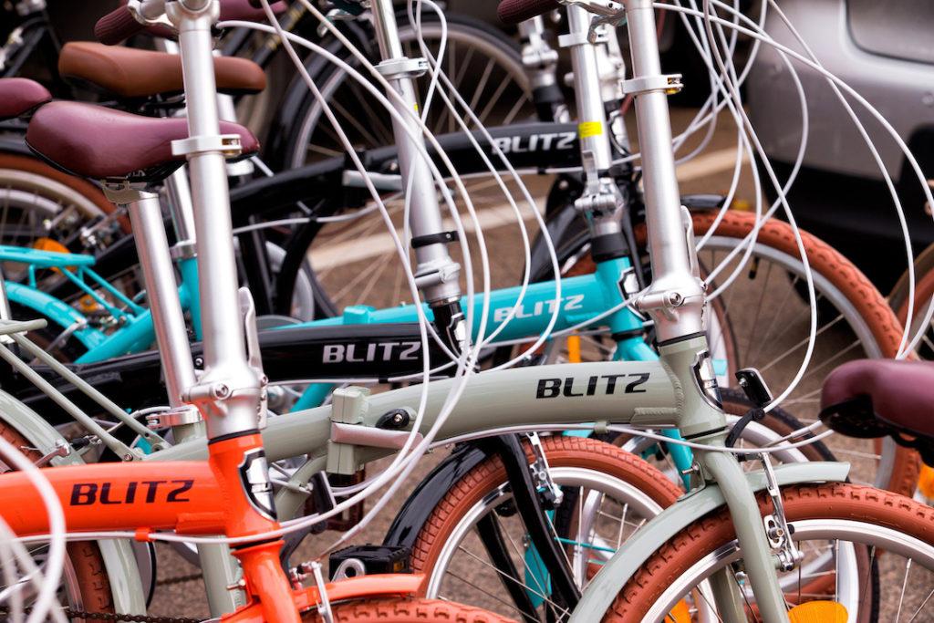 Vários modelos de bicicletas BLITZ.