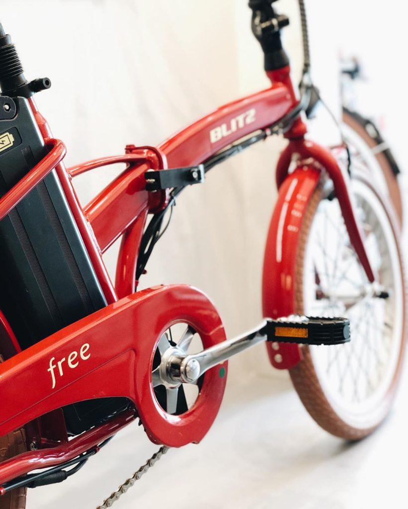 Free: a bicicleta elétrica dobrável da BLITZ