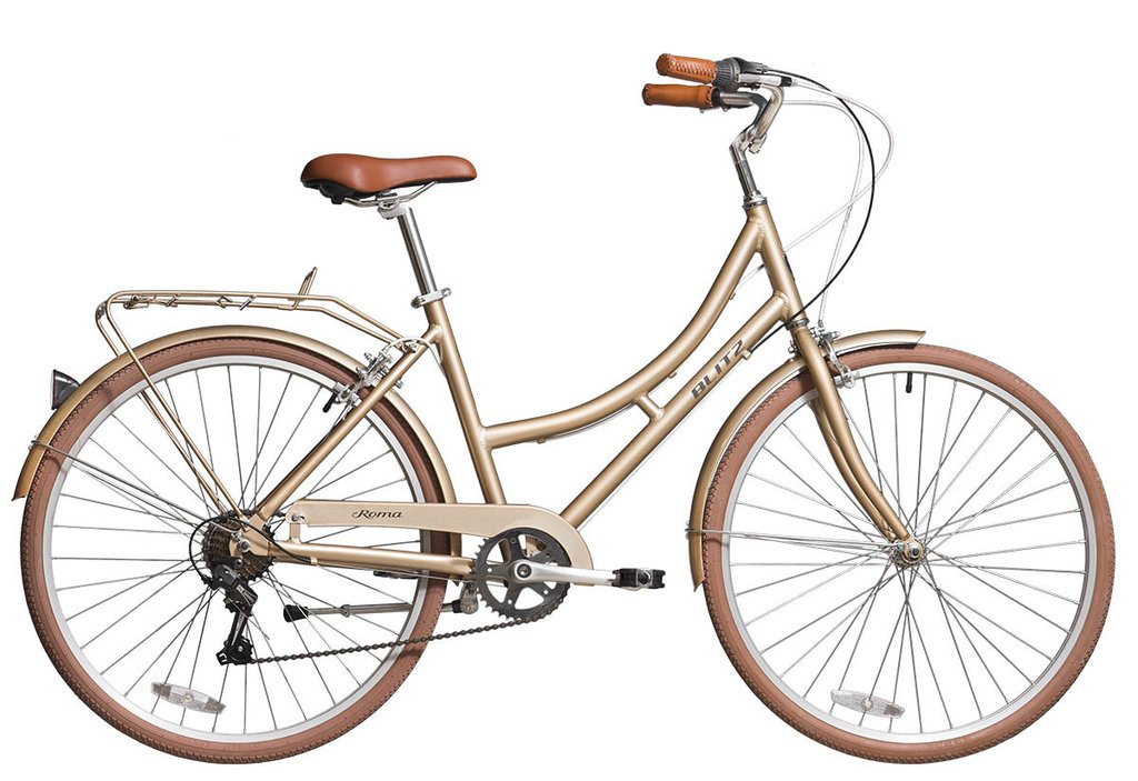 Bicicleta feminina vintage retrô BLITZ Roma